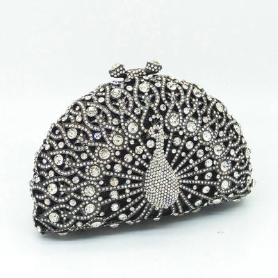 Original Beaded Peacock Clutch Bag Multi 3 / Small - Women Handbags & Purses | MegaMallExpress.com
