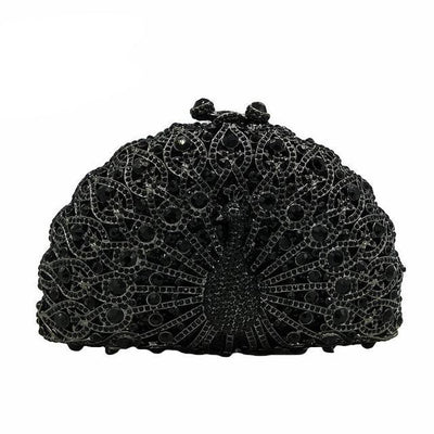 Original Beaded Peacock Clutch Bag Multi 7 / Small - Women Handbags & Purses | MegaMallExpress.com