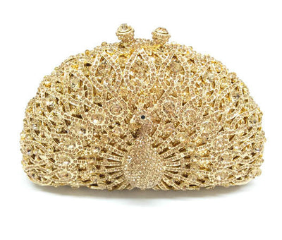Original Beaded Peacock Clutch Bag Multi 27 / Small - Women Handbags & Purses | MegaMallExpress.com