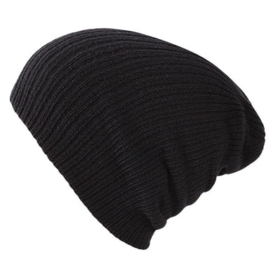 Solid Colors Bonnet Black - Women Socks & More | MegaMallExpress.com
