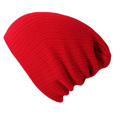 Solid Colors Bonnet Red - Women Socks & More | MegaMallExpress.com