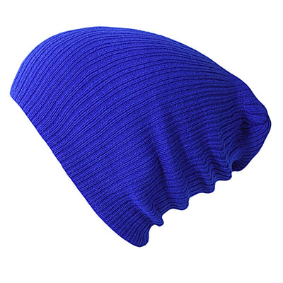 Solid Colors Bonnet Dark Blue - Women Socks & More | MegaMallExpress.com