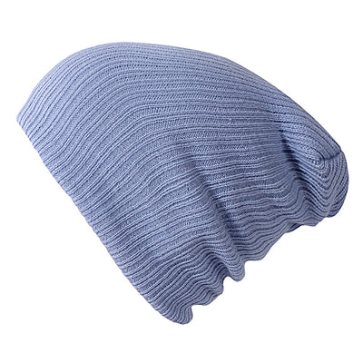 Solid Colors Bonnet Sky Blue - Women Socks & More | MegaMallExpress.com