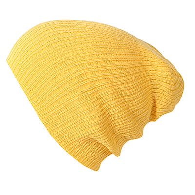Solid Colors Bonnet Yellow - Women Socks & More | MegaMallExpress.com