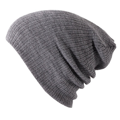 Solid Colors Bonnet Light Gray - Women Socks & More | MegaMallExpress.com