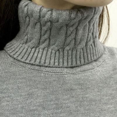 Women Long Sleeve Turtleneck Sweater  - Women Sweaters | MegaMallExpress.com