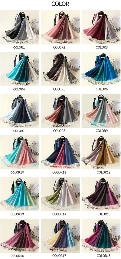 Elegant Cotton Tassel Scarves  - Women Socks & More | MegaMallExpress.com