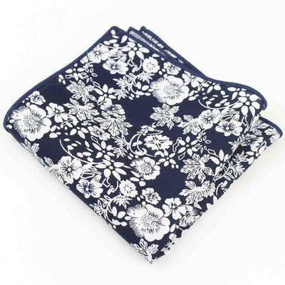 Vintage Handkerchief Black 8 - Men Ties & Accessories | MegaMallExpress.com