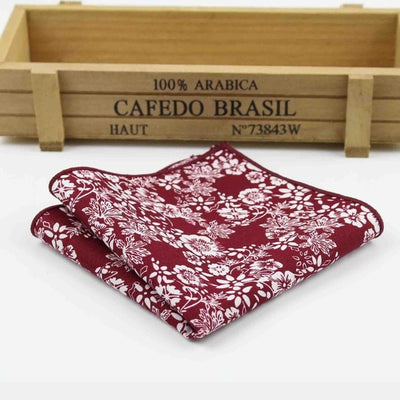 Vintage Handkerchief Red 9 - Men Ties & Accessories | MegaMallExpress.com