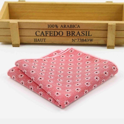Vintage Handkerchief Pink 15 - Men Ties & Accessories | MegaMallExpress.com