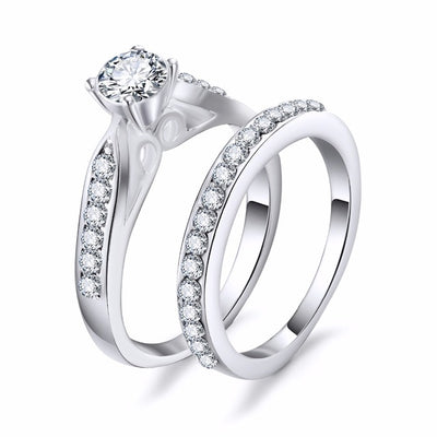 Bridal Wedding Set 9 / Silver - Wedding & Engagement | MegaMallExpress.com