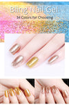 Glitter UV Nail Gel  - Nail Art & Tools | MegaMallExpress.com