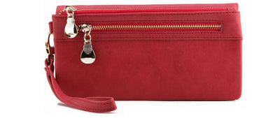 Large Capacity Women Wallets Red - Women Wallets | MegaMallExpress.com