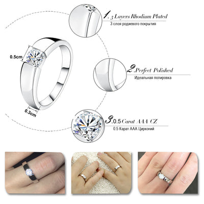 AAA Grade CZ Ring  - Formal Rings | MegaMallExpress.com