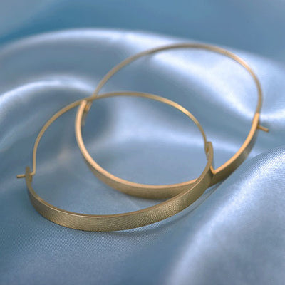 Big Hoop Earrings  - Earrings | MegaMallExpress.com