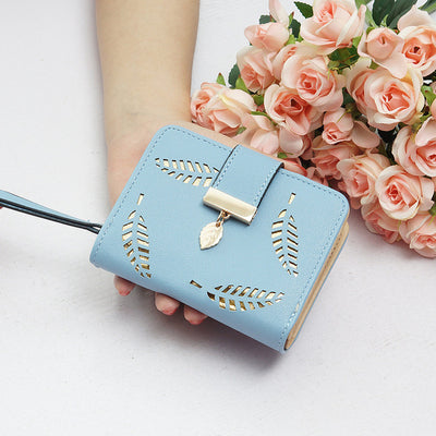 Women's Credit Card Mini Wallets blue - Women Wallets | MegaMallExpress.com
