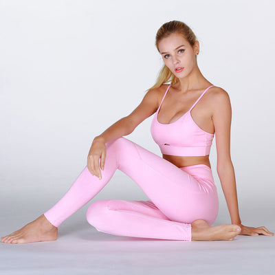 Running Sports Suit For Women Pink / M - Women Bottoms | MegaMallExpress.com