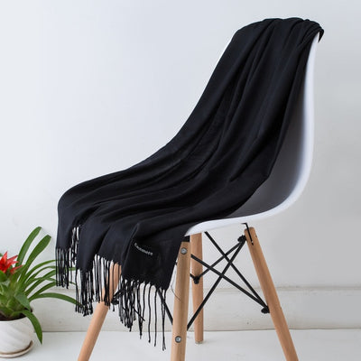 Spring Scarves For Women Black 1 - Women Socks & More | MegaMallExpress.com