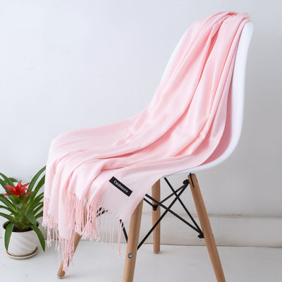 Spring Scarves For Women Pink 5 - Women Socks & More | MegaMallExpress.com