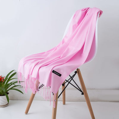 Spring Scarves For Women Pink 10 - Women Socks & More | MegaMallExpress.com