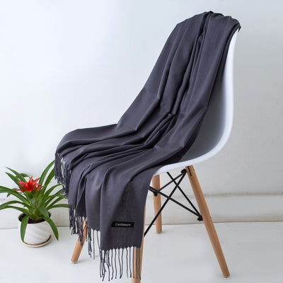 Spring Scarves For Women Gray 15 - Women Socks & More | MegaMallExpress.com
