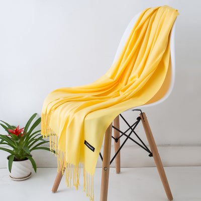 Spring Scarves For Women Yellow 19 - Women Socks & More | MegaMallExpress.com