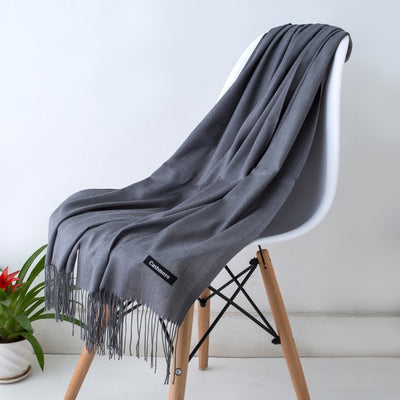 Spring Scarves For Women Gray 21 - Women Socks & More | MegaMallExpress.com