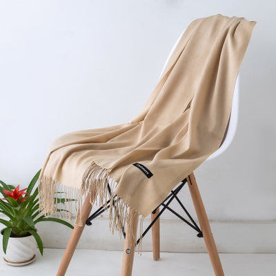 Spring Scarves For Women Brown 23 - Women Socks & More | MegaMallExpress.com