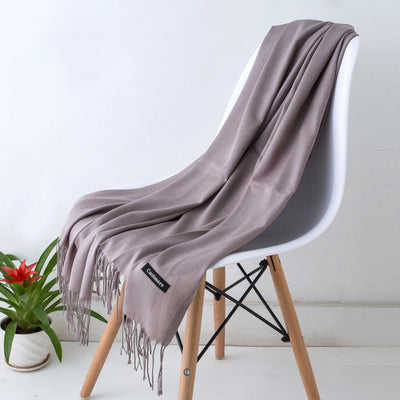 Spring Scarves For Women Gray 24 - Women Socks & More | MegaMallExpress.com