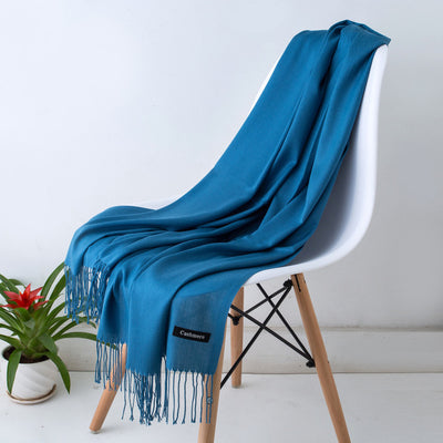 Spring Scarves For Women Blue 28 - Women Socks & More | MegaMallExpress.com
