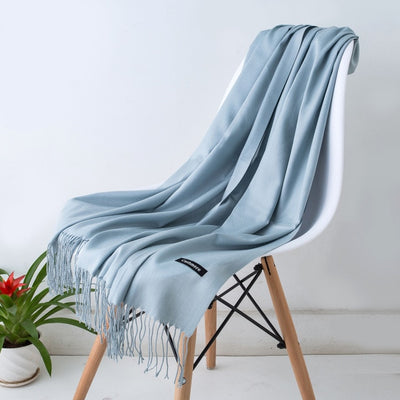 Spring Scarves For Women Blue 29 - Women Socks & More | MegaMallExpress.com