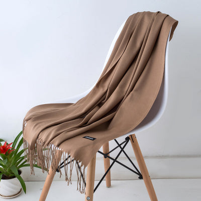 Spring Scarves For Women Brown 30 - Women Socks & More | MegaMallExpress.com