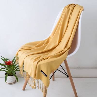 Spring Scarves For Women Yellow 32 - Women Socks & More | MegaMallExpress.com