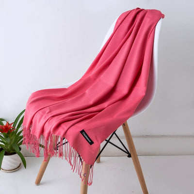 Spring Scarves For Women Pink 34 - Women Socks & More | MegaMallExpress.com