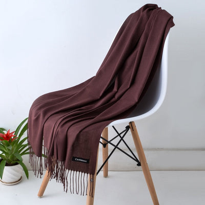 Spring Scarves For Women Brown 35 - Women Socks & More | MegaMallExpress.com