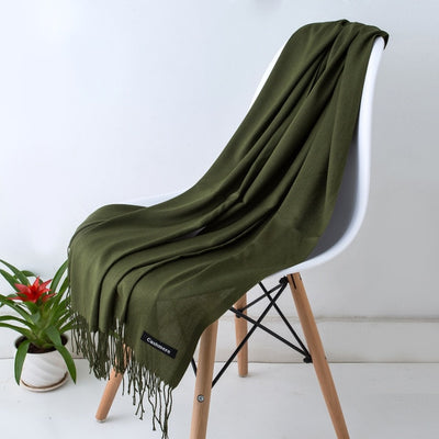 Spring Scarves For Women Green 7 - Women Socks & More | MegaMallExpress.com