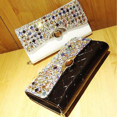 2019 Patent Leather Evening Clutches  - Women Handbags & Purses | MegaMallExpress.com