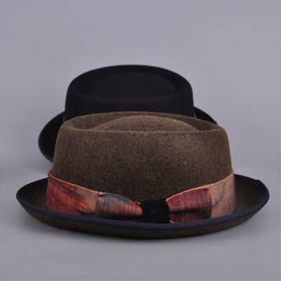 100% Wool Classic Fedora Hat  - Men Hats & Caps | MegaMallExpress.com