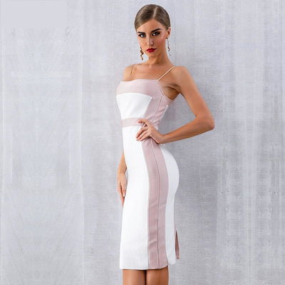 2019 Summer Spaghetti Strap Midi Party Dresses  - Women Dresses | MegaMallExpress.com