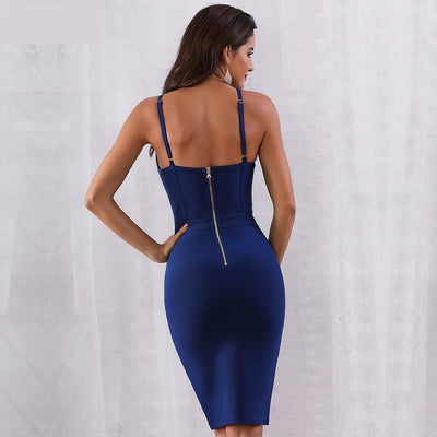 2019 Elegant Spaghetti Strap Nightclub Dress  - Women Dresses | MegaMallExpress.com