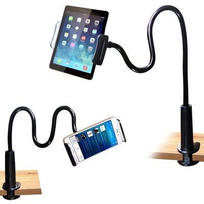 Universal Flexible Long Arm Holder Clip For Cellphones & Tablets Black - Trending Products | MegaMallExpress.com