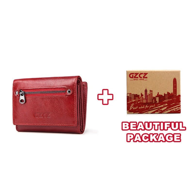 Women's Bifold RFID Wallets On Sale Red-S-BOX - Women Wallets | MegaMallExpress.com