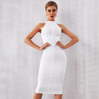 2019 Summer Bandage Dresses White / XS - Women Dresses | MegaMallExpress.com