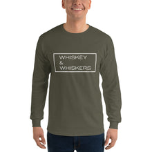 "Load image into Gallery viewer, ""Whiskey & Whiskers"" Long Sleeve"