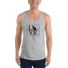 "Load image into Gallery viewer, ""LOVE (Cats)"" Tank Top"