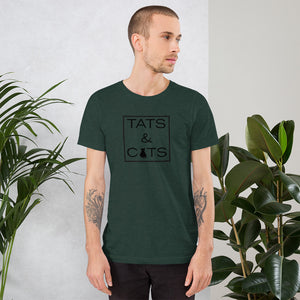 """Tats & Cats"" T-Shirt"