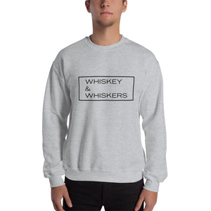 """Whiskey & Whiskers"" Crewneck Sweatshirt"