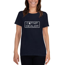 "Load image into Gallery viewer, ""Catnip Dealer"" Women's T-Shirt"
