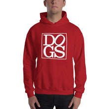 "Load image into Gallery viewer, ""DOGS"" Hooded Sweatshirt"
