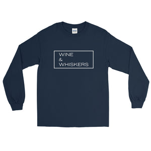 """Wine & Whiskers"" Long Sleeve"